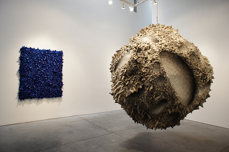Kwang Young Chun, Aggregation - JN028, 2006, 250cm diameter, mixed media with Korean mulberry paper