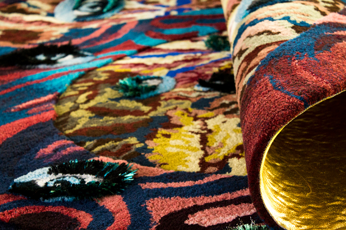 Linder Rug at British Art Show 8 | Edinburgh