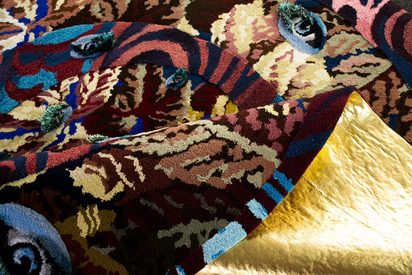 Linder Rug at British Art Show 8 | Norwich
