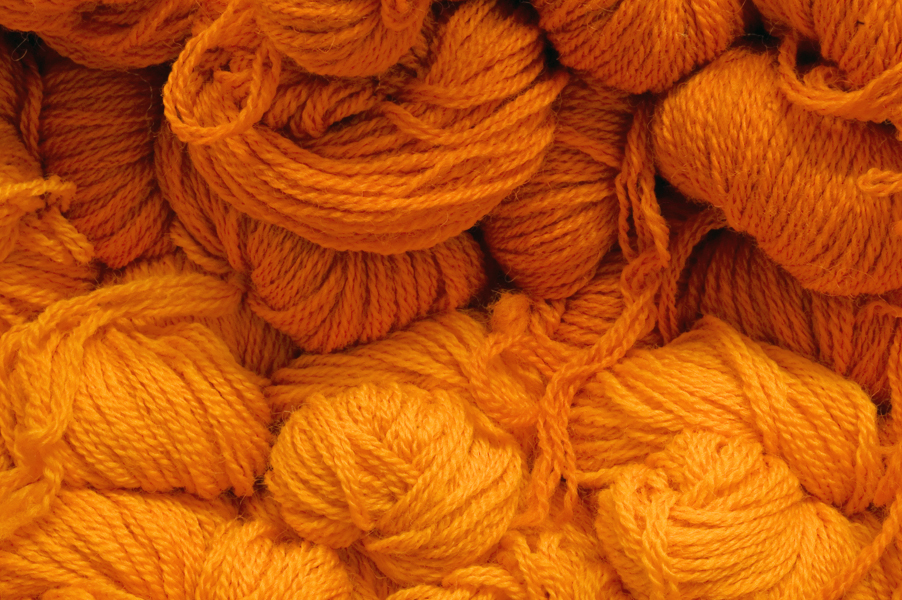 Colour Blending with Wool - Tuft Making and Bobbin Winding