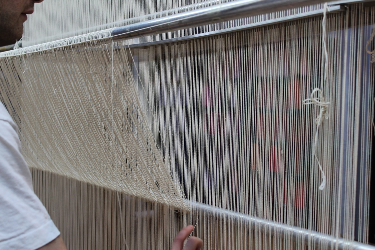 Weaving Demonstration by Apprentice Weaver Ben Hymers (Hearing Loop available)