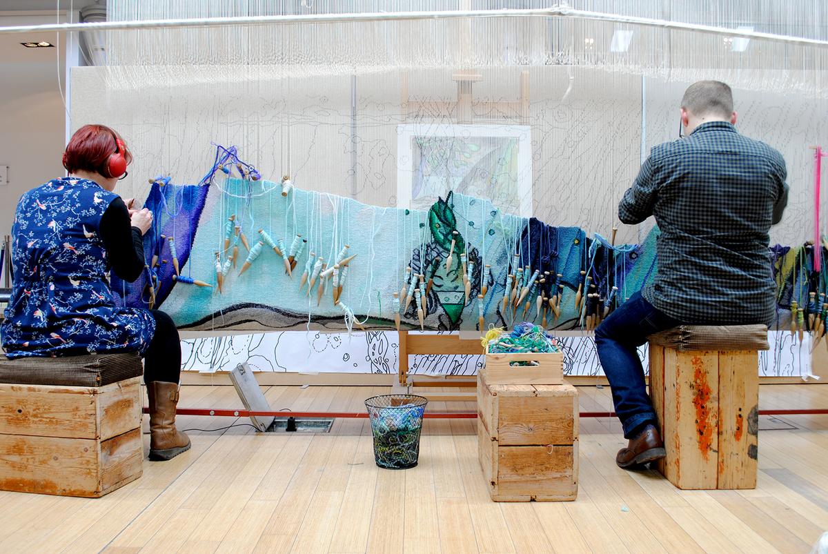 London   Weaving the Magic workshop I National Gallery