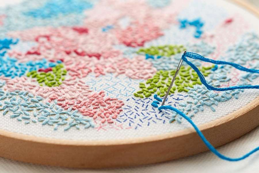 SOLD OUT Introduction to Embroidery with Wemyss School of Needlework