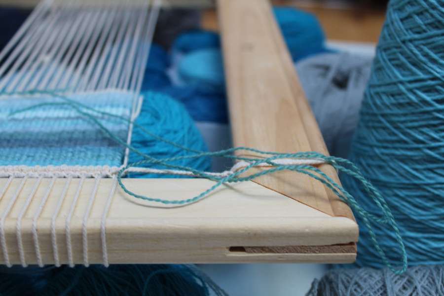 Tapestry Weaving 3-Day Workshop | Weaving Water
