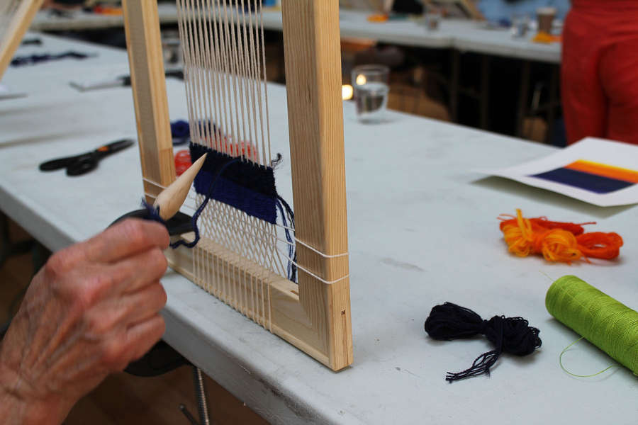 SPACE AVAILABLE Tapestry Weaving Experience Day