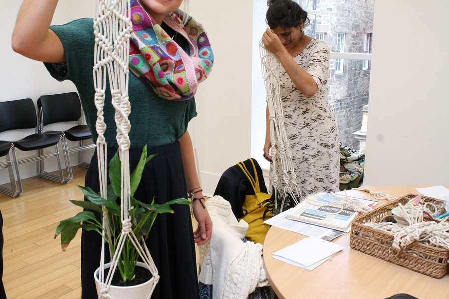 CANCELLED Introduction to Macramé: Hanging Planter Workshop