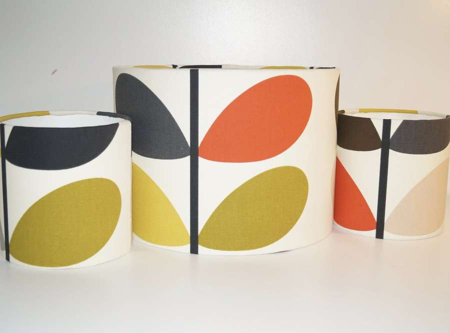 Make Your Own Orla Kiely Lampshade