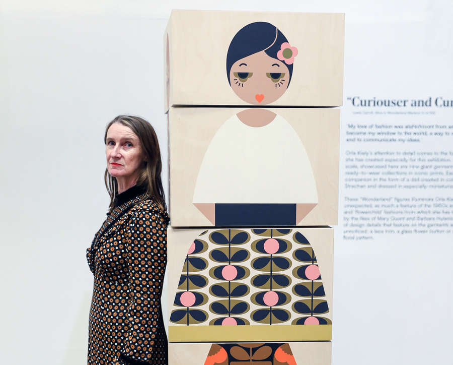 Exhibition Preview with Orla Kiely