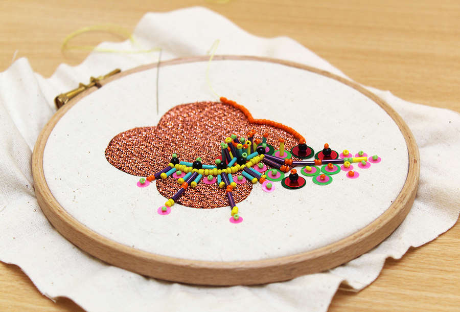SOLD OUT Embroidery Workshop with Chloe Patience