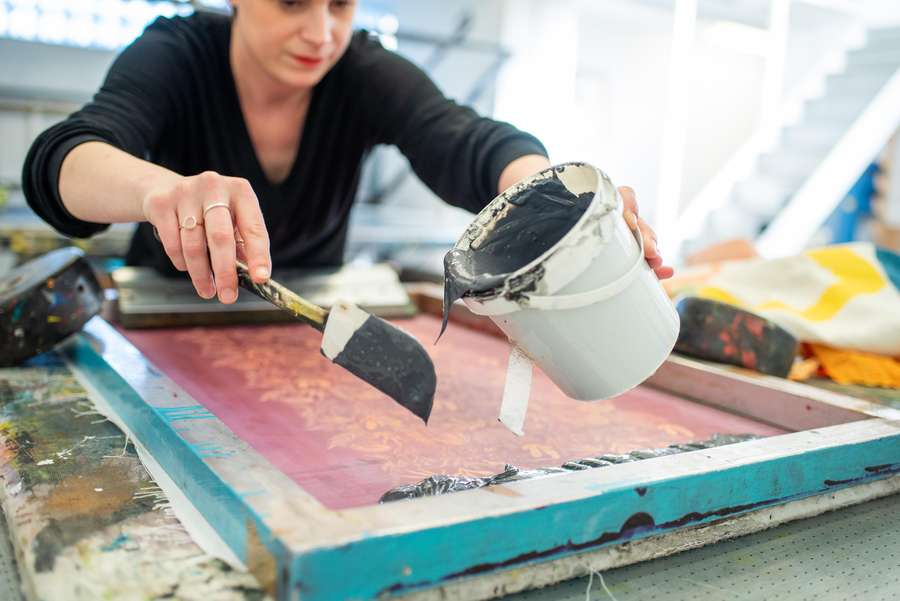 Textile Screen Printing Workshop