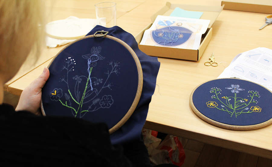 POSTPONED Introduction to Embroidery Art