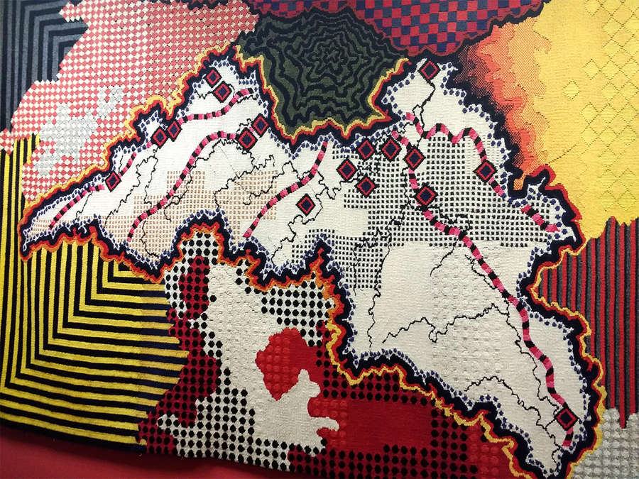 CANCELLED Modern Tapestry: How Weaving Moved with the Times
