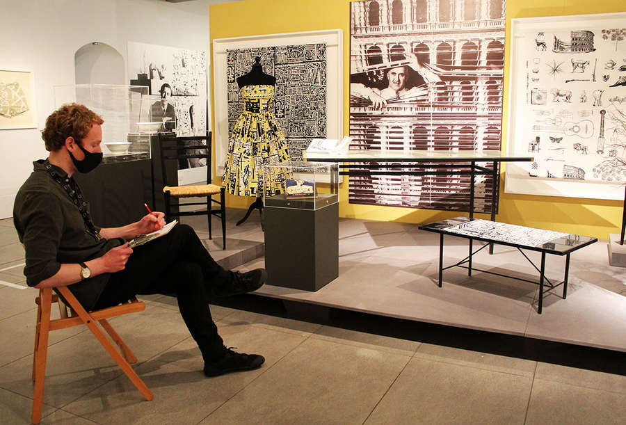 Drawing at Dovecot: Mid-Century Modern