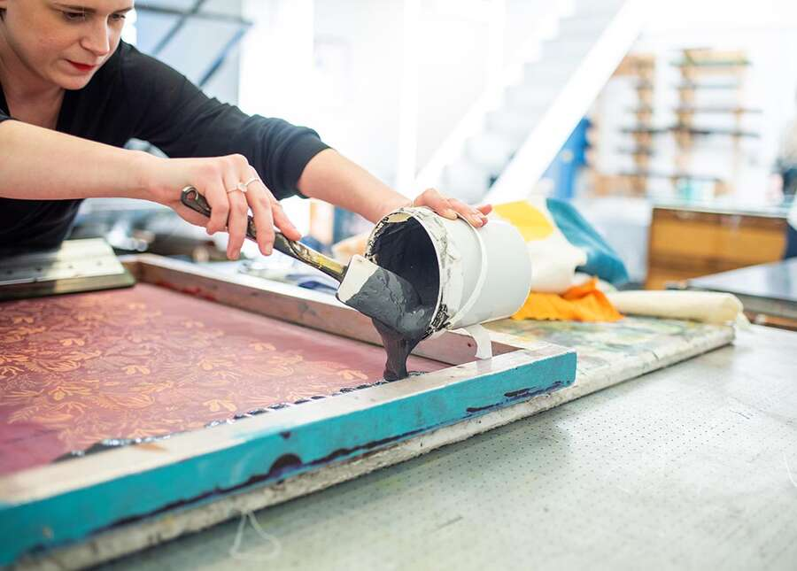 Introduction to Textile Screen Printing