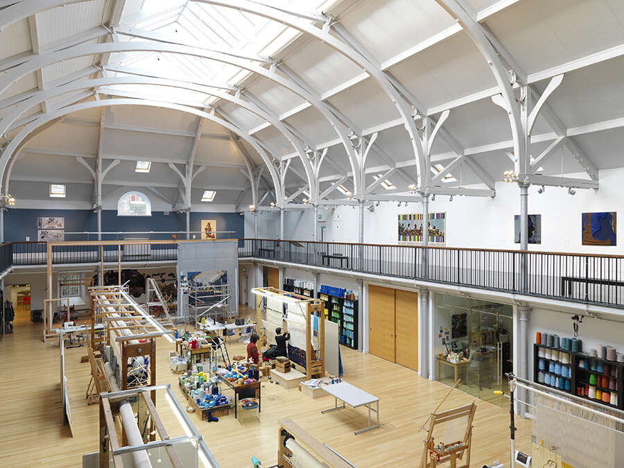 ONLINE Collect 2021: Dovecot Tapestry Studio Tour