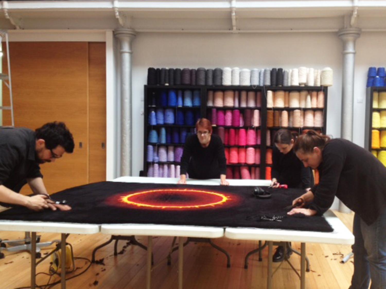 Dovecot welcomes Australian Tapestry Workshop weaver Milena Paplinska