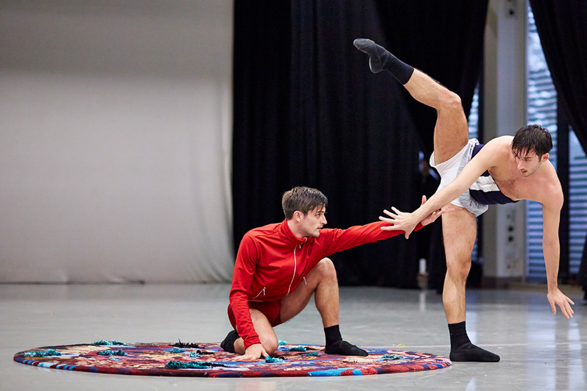 Children of the Mantic Stain ballet features Linder rug