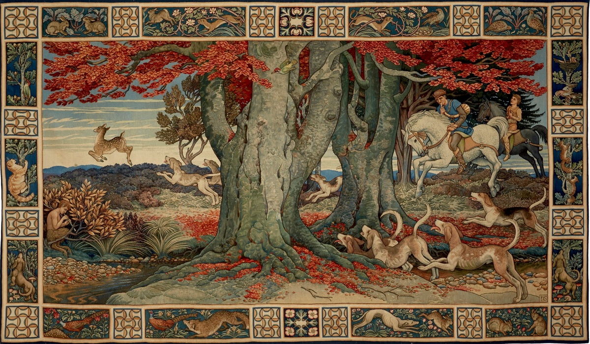 Take a close look at The Chace Tapestry