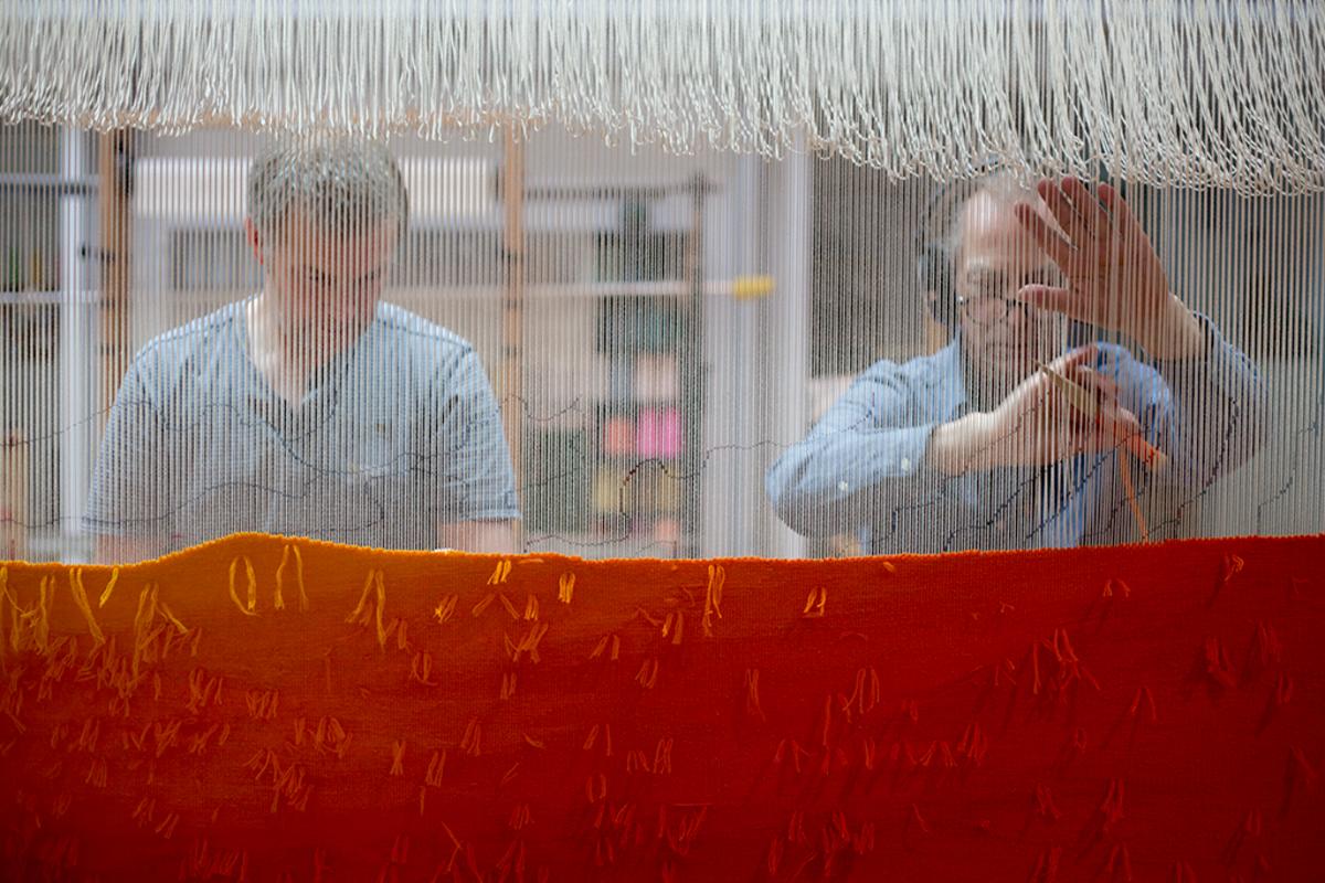 Garry Fabian Miller new tapestry