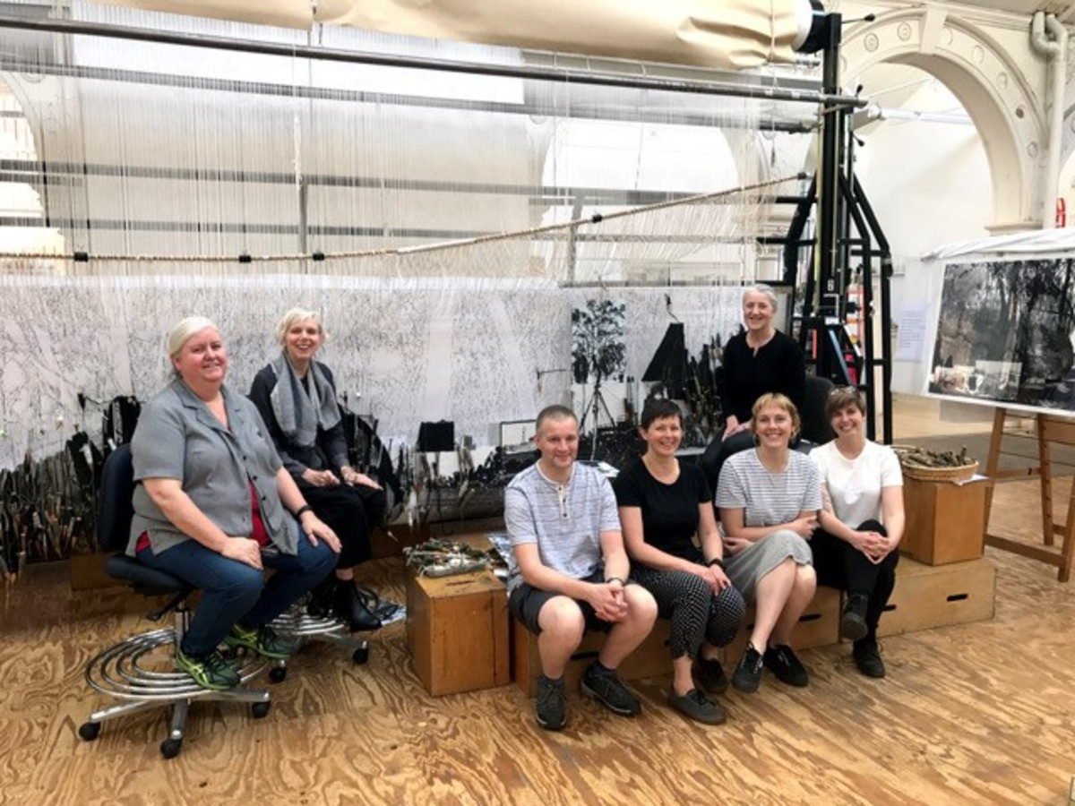 David Cochrane travels to Australian Tapestry Workshop