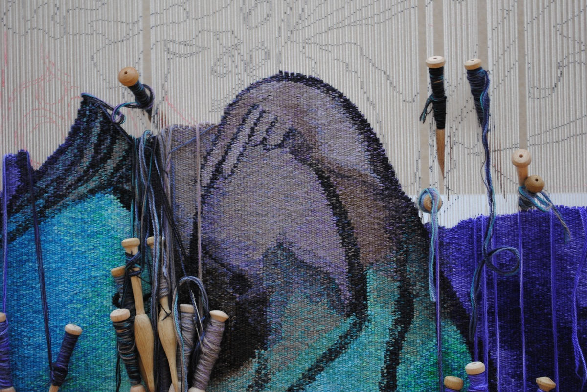 Dovecot presents Ofili tapestry at Clothworkers' Hall for London Craft Week 2018