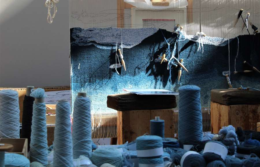 Dovecot create a major new tapestry with Barbara Rae