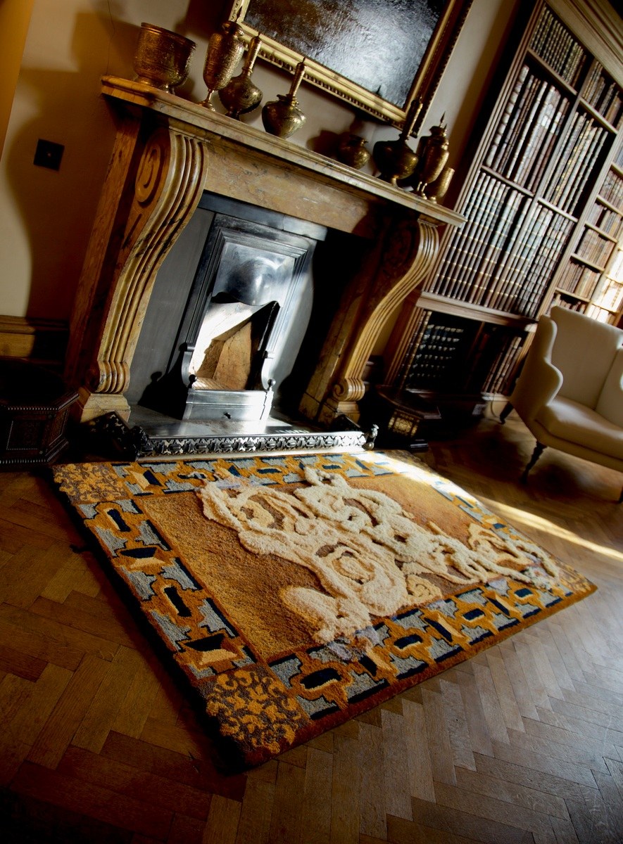 Smoking Rug for Bowhill Estate