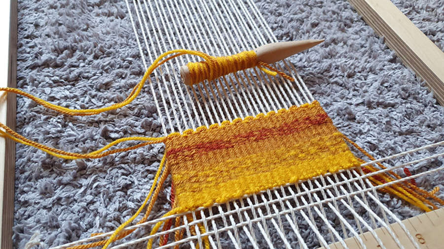 Weaving From Home