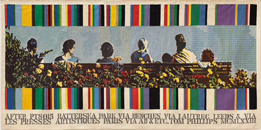 553a4ce7545d2-Plate 13 Tom Philips after Benches (1973)WEB.jpg